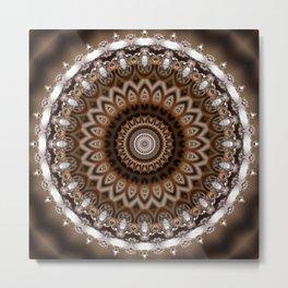 Festive Mandala Metal Print