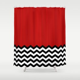 Twin Peaks - The Red Room Shower Curtain