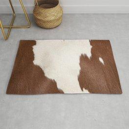 Brown Cowhide v4 Rug