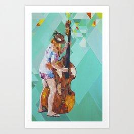 Bajo Art Print
