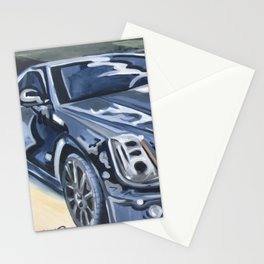 Black on Black {Cadillac CTS Painting} Stationery Cards