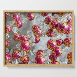 Holiday Sparkle Serving Tray