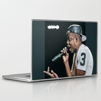 jay z Laptop & iPad Skins featuring Dirt Off Your Shoulder | JAY Z by visualsbyjay