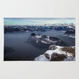 Lake Lucerne & the Alps Rug