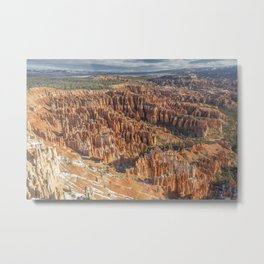 The Bryce Amphitheatre Metal Print