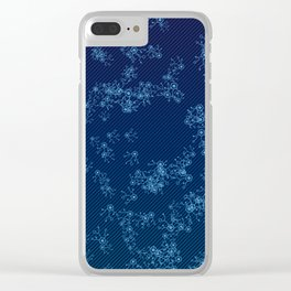 Prime Hack Links - Dark Blue Clear iPhone Case