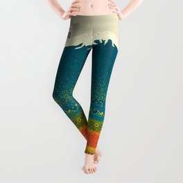 Mount Kilimanjaro Leggings