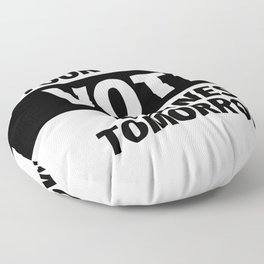 Election Time Floor Pillow