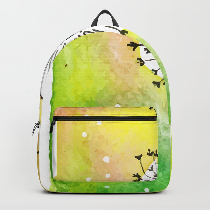 Watercolor Dandelion - Make a wish Backpack by shashirahandmaker ...