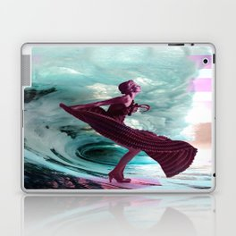 If you're not making waves, you're not underway Laptop & iPad Skin