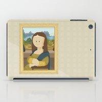 da vinci iPad Cases featuring Gioconda by Leonardo Da Vinci by Alapapaju