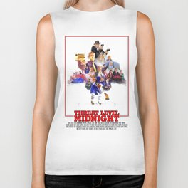 The Office Threat Level Midnight Biker Tank