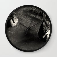 cycle Wall Clocks featuring Cycle by brane