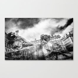 The Knight of Freedom Canvas Print