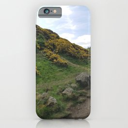 Holyrood park iPhone Case
