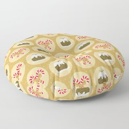 Merry Christmas With Love Floor Pillow
