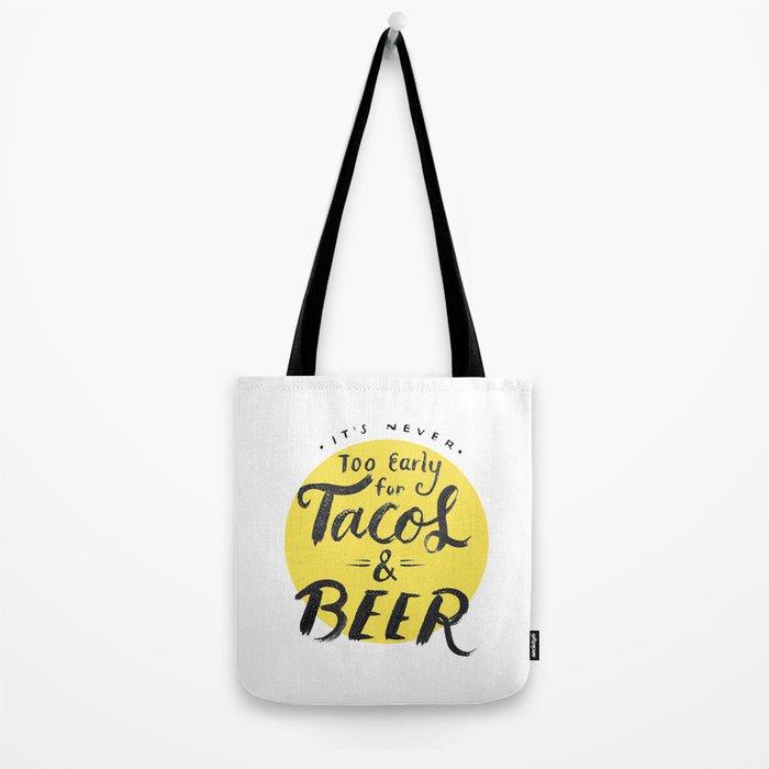 Tacos & Beer Tote Bag