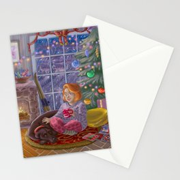 Last Hour of December Stationery Cards
