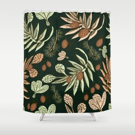Christmas pattern. Shower Curtain