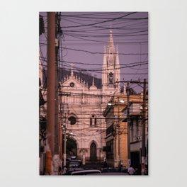 Santa Ana Gothic Cathedral El Salvador Canvas Print