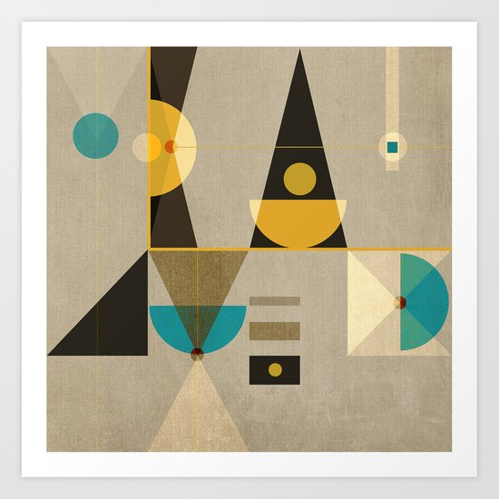 Geometric/Abstract 19 Art Print