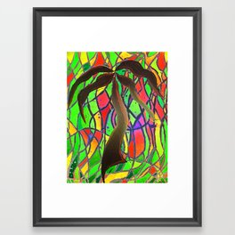Party Palm  Framed Art Print