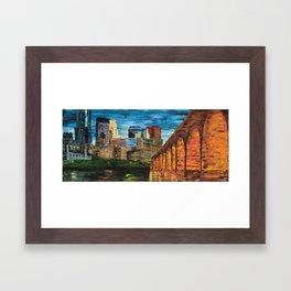 Stone Arch Framed Art Print