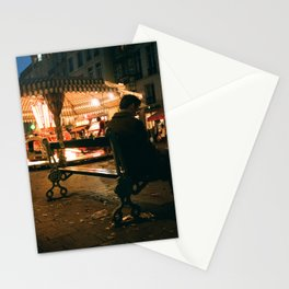 Meet you at the Carousel Stationery Cards