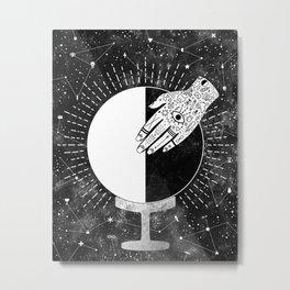 Third Quarter Metal Print