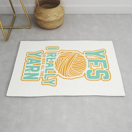 Knitting Queen Gift  Knitters Quotes Yarn T-Shirt Rug
