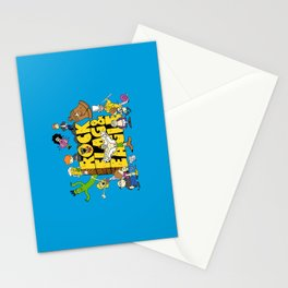 Rock, Flag & Eagle Stationery Cards