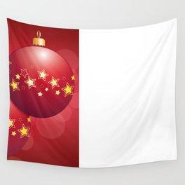 Christmas bulbs Wall Tapestry