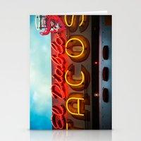 diablo Stationery Cards featuring El Diablo by Phil Provencio
