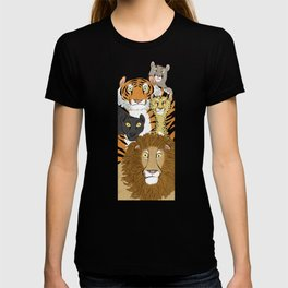Surprised Big Cats T-shirt