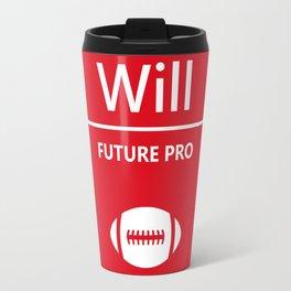 Will Future Pro - Red and White Travel Mug