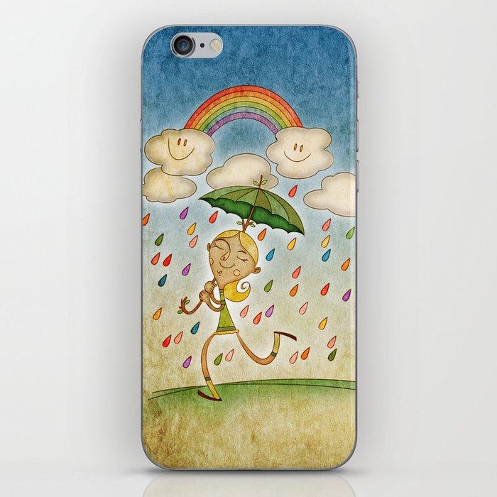 Rain iPhone Skin