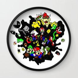 Crazylady Wall Clock