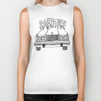 beastie boys Biker Tanks featuring BEASTIE BOYS Y'ALL by Josh LaFayette