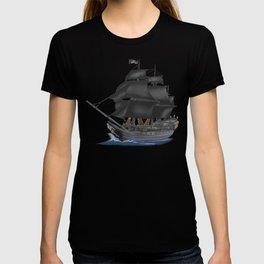 Pirate Ship at Sunset T-shirt