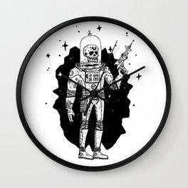 Intergalactic Bone Man Wall Clock