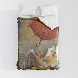 The Poor Poet - Carl Spitzweg Comforters