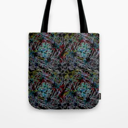 Connectivity - Neon Tote Bag