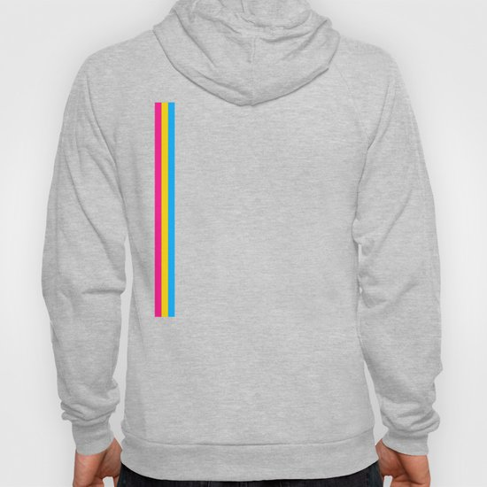 Pansexual Flag print LGBTQ Pride Gift Idea by phoxydesign
