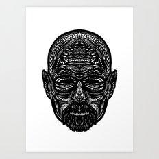 Walter White Art Print