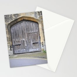 Oxford door 13 Stationery Cards