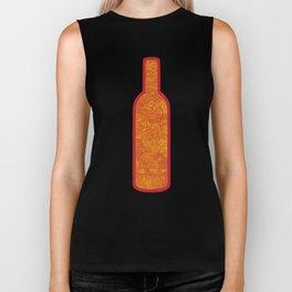 Wine Bottles Biker Tank