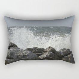 Busy Surf Rectangular Pillow