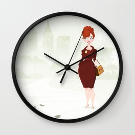 Joan Holloway Wall Clock