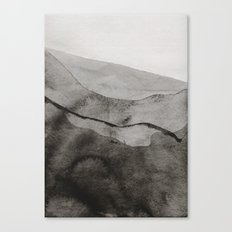 Ink Layers Canvas Print