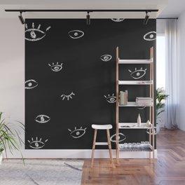 eyes wide open Wall Mural